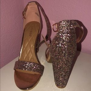 NEW sparkly heels!